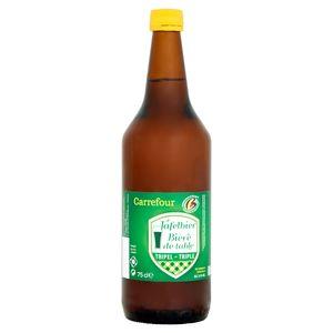 Carrefour Bière de Table Triple Bouteille 75 cl
