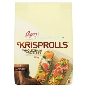 Pågen Krisprolls Wholegrain Complets 225 g
