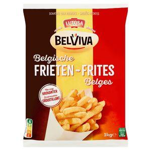 Lutosa wordt Belviva - Belgische Frieten 1 kg