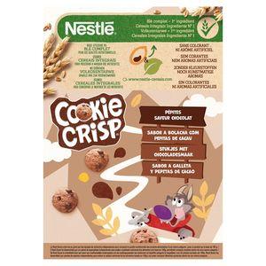 Cookie Crisp Koekjessmaak en Stukjes met Chocaladesmaak 375 g