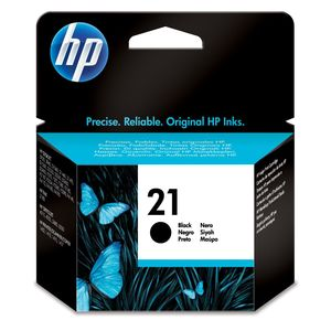 HP - Inktcartridge 21 - Zwart