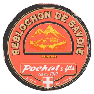 Pochat et Fils Reblochon de Savoie Fruitier au Lait Cru 240 g