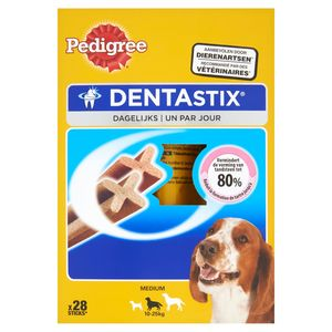 Pedigree DentaStix Hondensnacks Medium 10-25 kg 28 Stuks 720 g