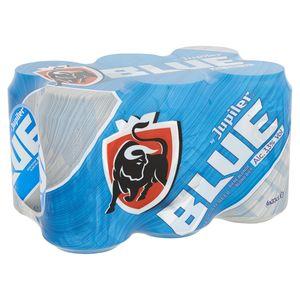 Jupiler Blue Blond Bier Blikken 6 x 33 cl