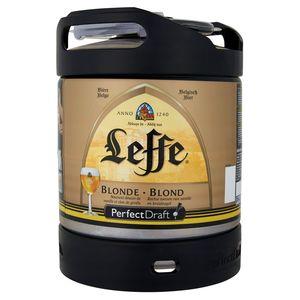 Leffe PerfectDraft Bière Belge Blonde Fût Pression 6 L