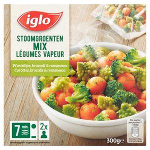 Iglo Stoomgroenten - Worteltjes Broccoli Romanesco 300 g