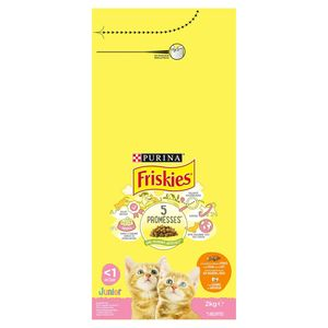 FRISKIES Kattenvoer Junior Kip, Melk en Groenten 2 kg