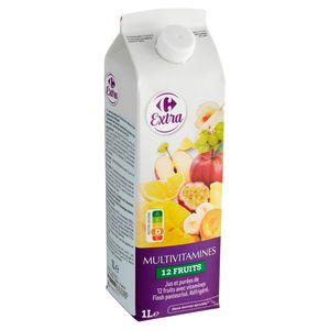 Carrefour Multivruchten Sap 1 L