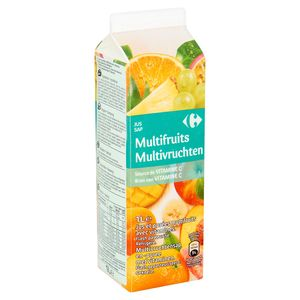 Carrefour Multifruits Jus 1 L