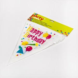 Party stars Drapeaux Guirlande Happy Birthday