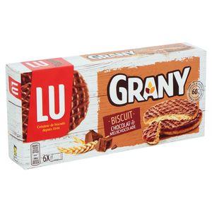 LU Grany Biscuit Chocolat au Lait 6 Sachets 195 g