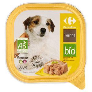 Carrefour Terrine Bio met Kip en Groenten 300 g