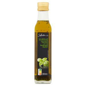 Carrefour Selection Huile d'Olive Vierge Extra au Basilic 250 ml