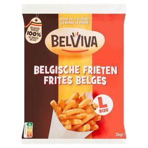 Lutosa wordt Belviva - Belgische Frieten 2 kg