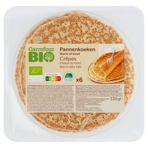 Carrefour Bio 6 Crêpes 330 g