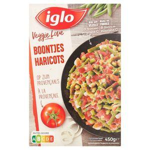 Iglo Veggie Love Boontjes op zijn Provençaals 450 g