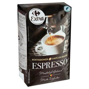 Carrefour Café en Grains Espresso Corsé & Puissant 1 kg