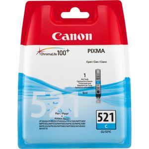Canon - Inktcartridge CLI-521C - Cyaan