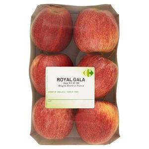 Carrefour Pomme Royal Gala 6 PCS