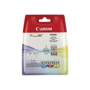 Canon - Inktcartridge CLI-521 - Drie-kleuren C/M/Y