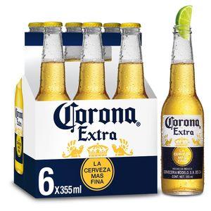 Corona Extra Flessen 6 x 35.5 cl
