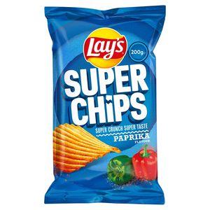 Lay's Superchips Paprika 200 gr