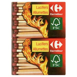 Carrefour Lucifers 10 x 40