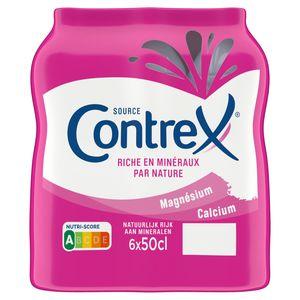 CONTREX® Eau Minérale Naturelle Plate 6 x 0.5 L