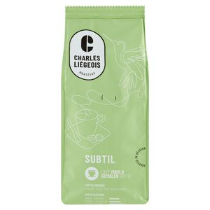 Charles Liégeois Subtil Gemalen Koffie 250 g
