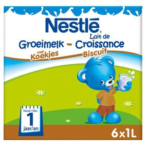 Nestlé Groeimelk met Koekjes vanaf 1 Jaar 6 x 1 L