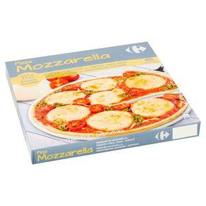 Carrefour Pizza Mozzarella Dunne Bodem 340 g