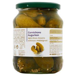 Cornichons Aigre Doux, Moyens 680 g