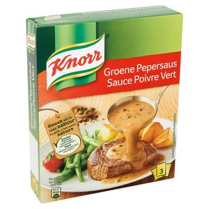 Knorr Poeder Saus Groene Peper 3 x 30 g