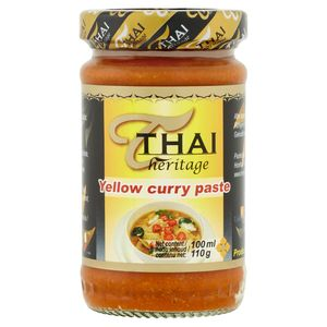 Thai Heritage Yellow Curry Paste 110 g
