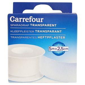 Carrefour Sparadrap Transparent 5 m x 2.5 cm
