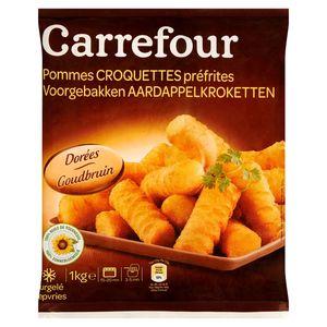 Carrefour Voorgebakken Aardappelkroketten Goudbruin 1 kg