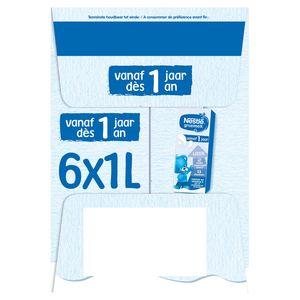 Nestlé Groeimelk 1+ vanaf 1 Jaar 6 x 1 L
