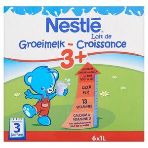 Nestlé Groeimelk 3+ vanaf 3 Jaar 6 x 1 L
