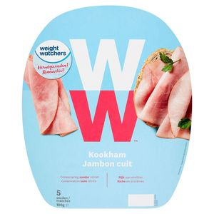 WW Jambon Cuit 5 Tranches 120 g