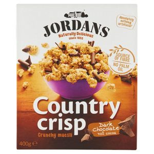 Jordans Country Crisp Crunchy Muesli Dark Chocolate 70% Cocoa 400 g