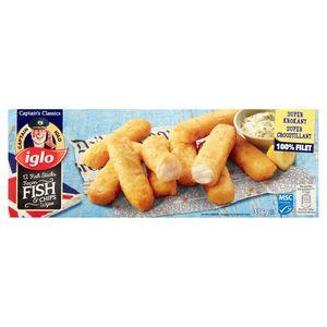 Iglo 12 Fish Sticks Fish & Chips Wijze 336 g