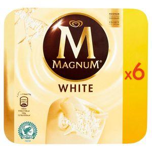 Magnum Ola Ijs Multipack White 6 x 110 ml