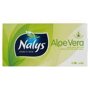 Nalys Aloe Vera 3 Lagen 80 Zakdoeken