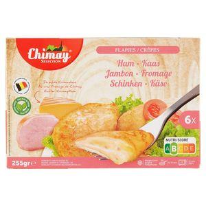 Chimay Sélection Ham en Kaas 6 Flapjes 255 g