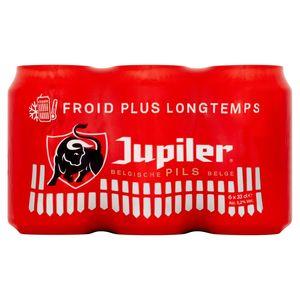 Jupiler Belgische Pils Blikken 6 x 33 cl