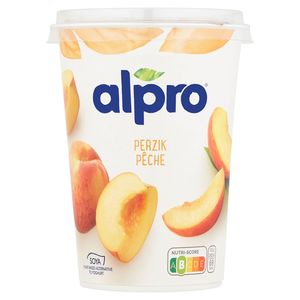 Alpro Perzik Plantaardig Alternatief voor Yoghurt 500 g