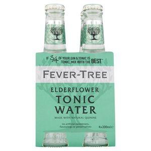 Fever-Tree Elderflower Tonic 4 x 20 cl