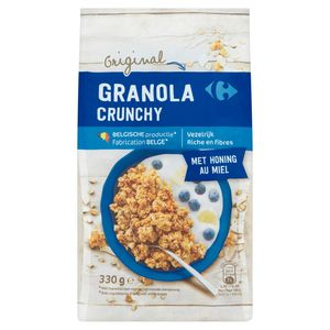 Carrefour Original Granola Crunchy met Honing 330 g