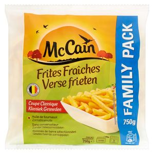 McCain Frites Fraîches Coupe Classique Family Pack 750 g