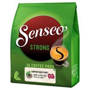 SENSEO® Café Pads Compostables* Strong 36 Pièces